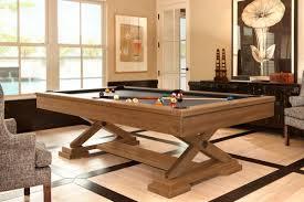 Wood Pool Table Brunswick Brixton