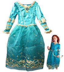 free shipping children tangled rapunzel brave merida princess