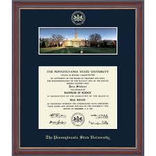 diploma frame size penn state diploma frames psu gifts for alumni