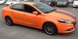 dodge dart orange my dart 1 4 rallye