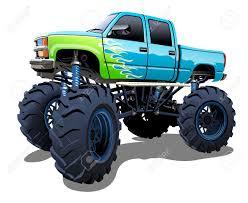 monster trucks clipart samochód dostawczy zdjęcia royalty free obrazki obrazy oraz