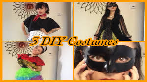 Diy Womens Halloween Costume Ideas 3 Diy Halloween Costume Ideas 50 U0027s Masquerade U0026 Toddlers And