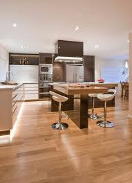 Kitchen With L Shaped Island 30 Kitchen Islands With Tables A Simple But Clever Combo