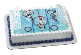 hockey cake toppers cake decorating kits toppers hockey hockey cake topper set
