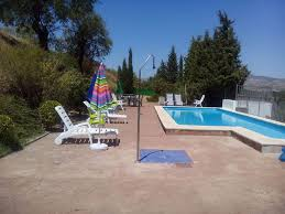 house with 5 bedrooms in granada with wonderful mountain view huetor tajar house rental swimming pool view