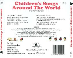 children s songs around the world catherine slonecki songs