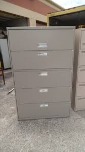 5 Drawer Lateral File Cabinets by Furniture Fireproof File Cabinet For Nice Office Room Storage