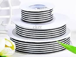 cheap grosgrain ribbon 125mm black white stripes 30 50 yards children hair bow diy