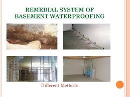 Basement Waterproofing Methods by Presentation On Waterproofing Of Basement Omar Faruqe Hamim L2 T1 B U2026