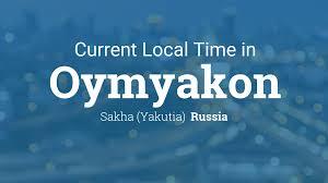 Oymyakon Map Current Local Time In Oymyakon Russia