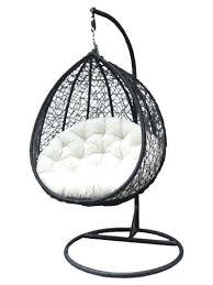swinging egg chair outdoor rattan hanging egg chair u2013 monplancul info
