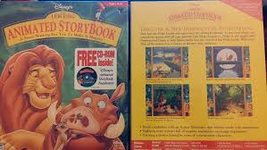 amazon lion king animated storybook software