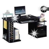 bureau informatique noir ᐅ achetez bureau informatique large choix de meuble