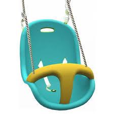 siege balancoire bébé siège bébé bleu et jaune achat vente balançoire portique