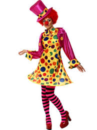 Ladies Clown Halloween Costumes Clown Lady Costume 32882 Fancy Dress Ball