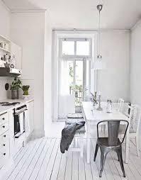 parquet cuisine déco la cuisine dit oui au parquet blanc