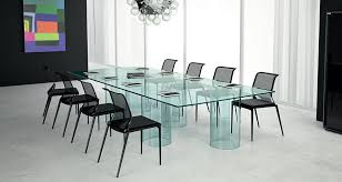 Modern Meeting Table Luxor By Fiam Italia Modern Conference Tables Linea Inc Modern