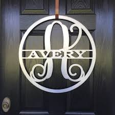 pretty diy letters for front door rooms decor and ideas