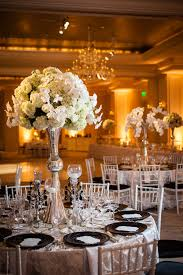 gorgeous black and white wedding by janet howard studio