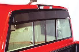 dodge ram rear window westin wade cab guard rear window deflector dodge ram 3500