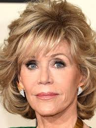 bing hairstyles for women over 60 jane fonda with shag haircut more pics of jane fonda curled out bob bobs hair style and haircuts