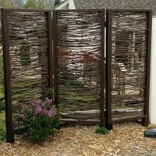 Outdoor Room Dividers Outdoor Room Dividers Wicker Outdoor Partition Outdoor Room