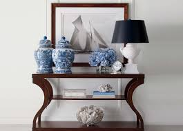Entry Way Table Decorating by Donatella Entryway Ethan Allen