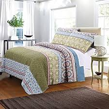 greenland home 3 marley quilt set king home