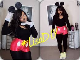Mickey Mouse Halloween Costume Adults Easy Diy Halloween Costume Mickey Mouse