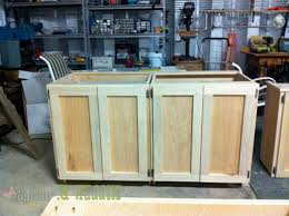 build a kitchen island out of stock cabinets exitallergy making kitchen cabinets build a island out of cabinet construction