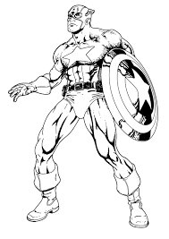 fancy captain america coloring 32 picture coloring