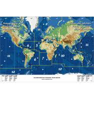 World Map Posters by World Fishing Areas Mini Map U2013 Poster With Fishing Areas