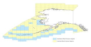 Alaska Zip Code Map by Alaska Cadastral Data Boem