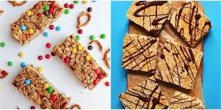 Top 10 Healthiest Granola Bars by 35 Healthy Granola Bar Recipes How To Make Granola Bars