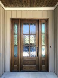 Exterior Doors Glass Black Front Doors With Glass Black Front Door With Oval Glass