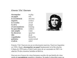 che guevara biografie reading bundle revolutionaries by ninatutor