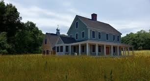 New England Saltbox House The Farmhouse Colonial Exterior Trim And Siding The