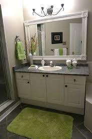 Framing Existing Bathroom Mirrors Bathroom Mirror Frame Engem Me