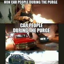 Purge Meme - when the purge starts
