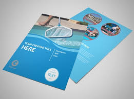 cleaning brochure templates free pool cleaning flyer template mycreativeshop