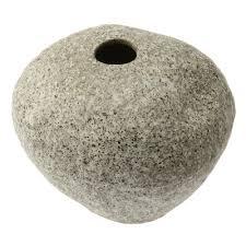 Ikebana Vase Tokoname Ceramic Rock Design Ikebana Vase
