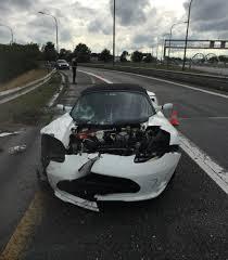 tesla roadster crashes in belgium
