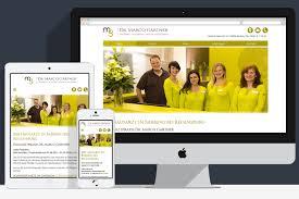 Hausarzt Bad Mergentheim Zahnarzt Homepage Erstellung Webdesign Referenzen Unserer