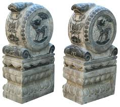 drum door stones asian garden statues and yard