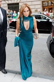 jennifer lopez u0027s teal dress at wedding u2014 stunning gown with arod