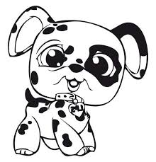 littlest pet shop coloring pages of dogs little pet shop baby dalmatian dog coloring pages batch coloring