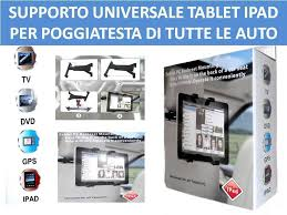 porta tablet per auto supporto poggiatesta per auto regolabile porta tablet