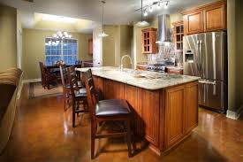 Height Of A Kitchen Island Kitchen How To Build A Kitchen Island With Raised Bar