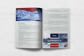 100 it services brochure template best 25 corporate