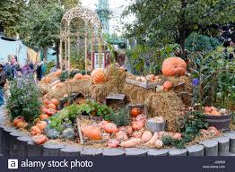 tivoli gardens halloween decorations copenhagen stock photos
